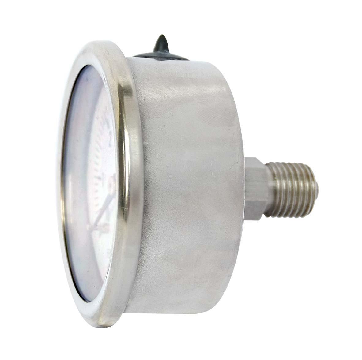 不鏽鋼壓力表 不鏽鋼真空壓力表 不鏽鋼彈簧管壓力表 9