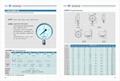 不锈钢压力表 不锈钢真空压力表 不锈钢弹簧管压力表 2