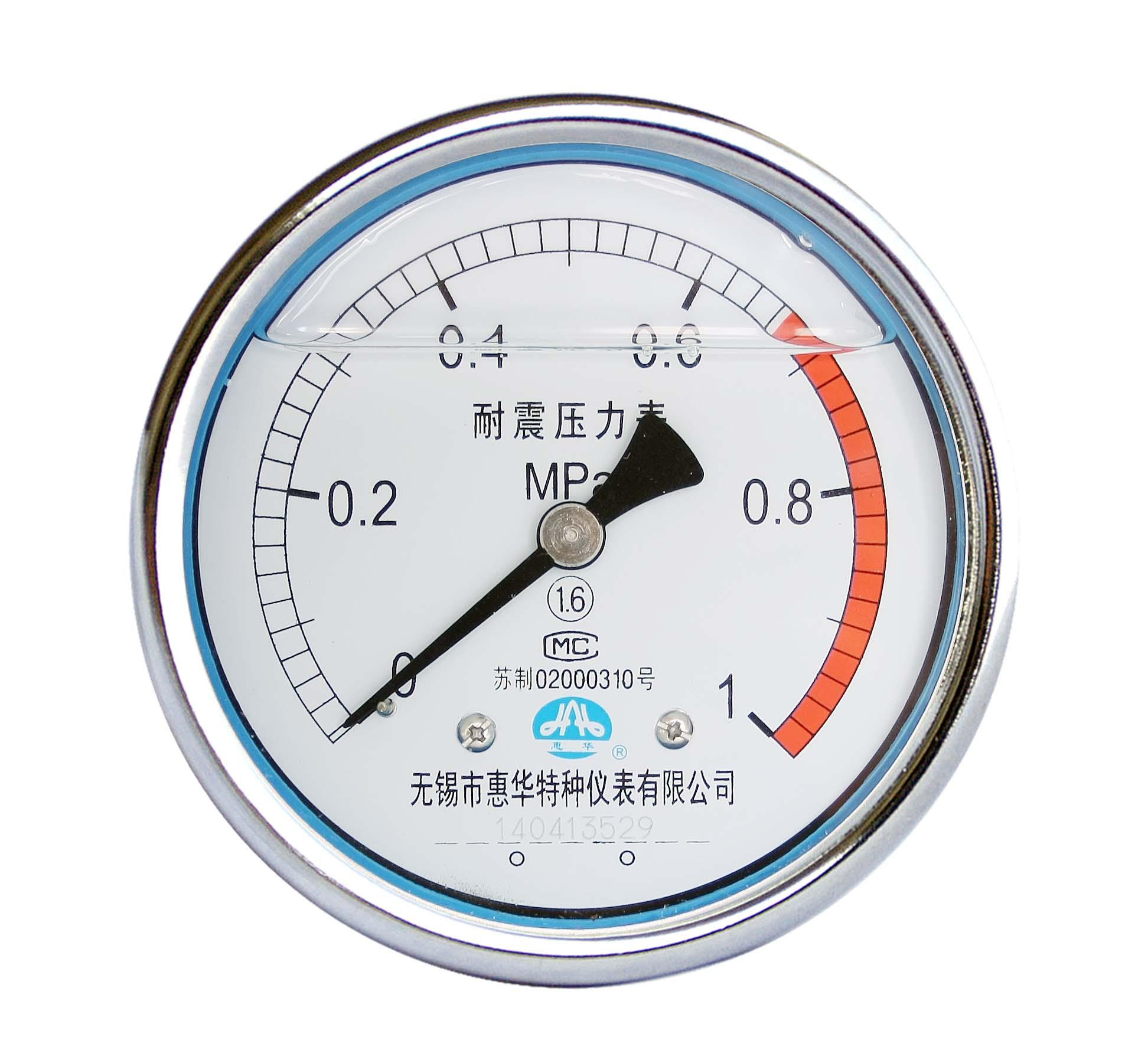 不鏽鋼耐震壓力表 耐震不鏽鋼壓力表 5