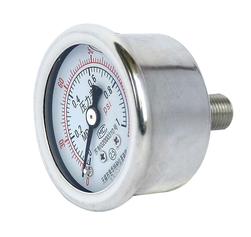 不鏽鋼耐震壓力表 耐震不鏽鋼壓力表 12
