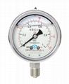 不锈钢耐震压力表 耐震不锈钢压力表