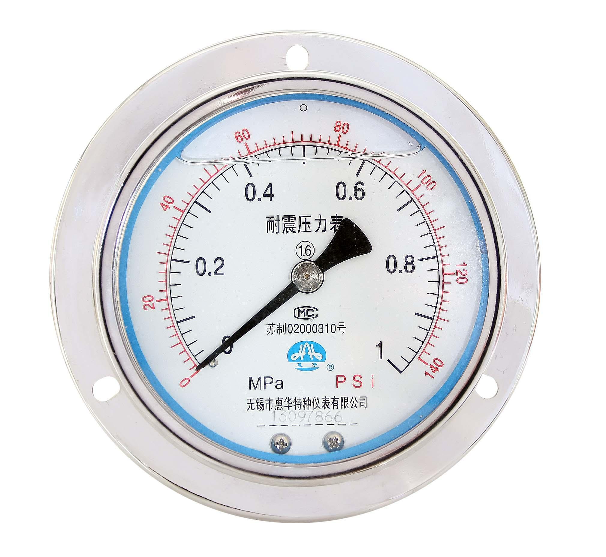 不鏽鋼耐震壓力表 耐震不鏽鋼壓力表 8