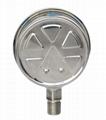 不鏽鋼膜盒壓力表 不鏽鋼微壓表 8