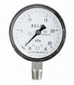 不鏽鋼膜盒壓力表 不鏽鋼微壓表 3
