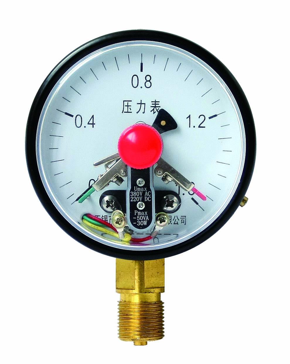 電接點壓力表 1