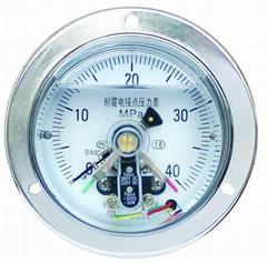 耐震電接點壓力表