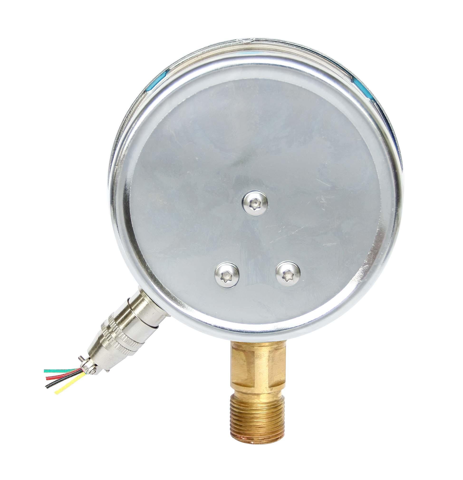 耐震電接點壓力表 7