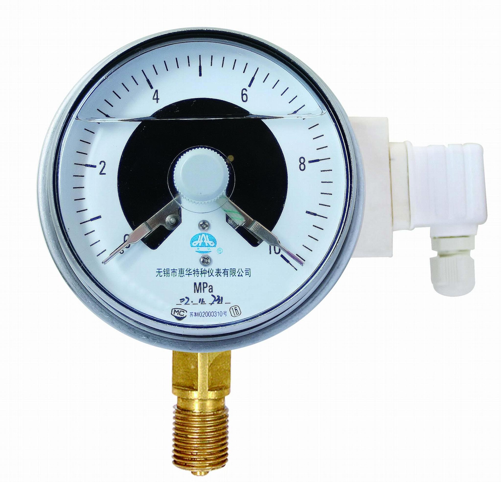 光電耐震電接點壓力表 1