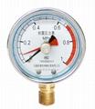 耐震留针压力表 耐震记忆压力表