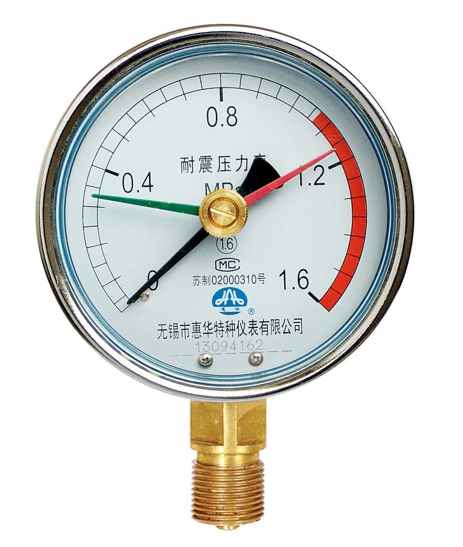 耐震定位型壓力表 1