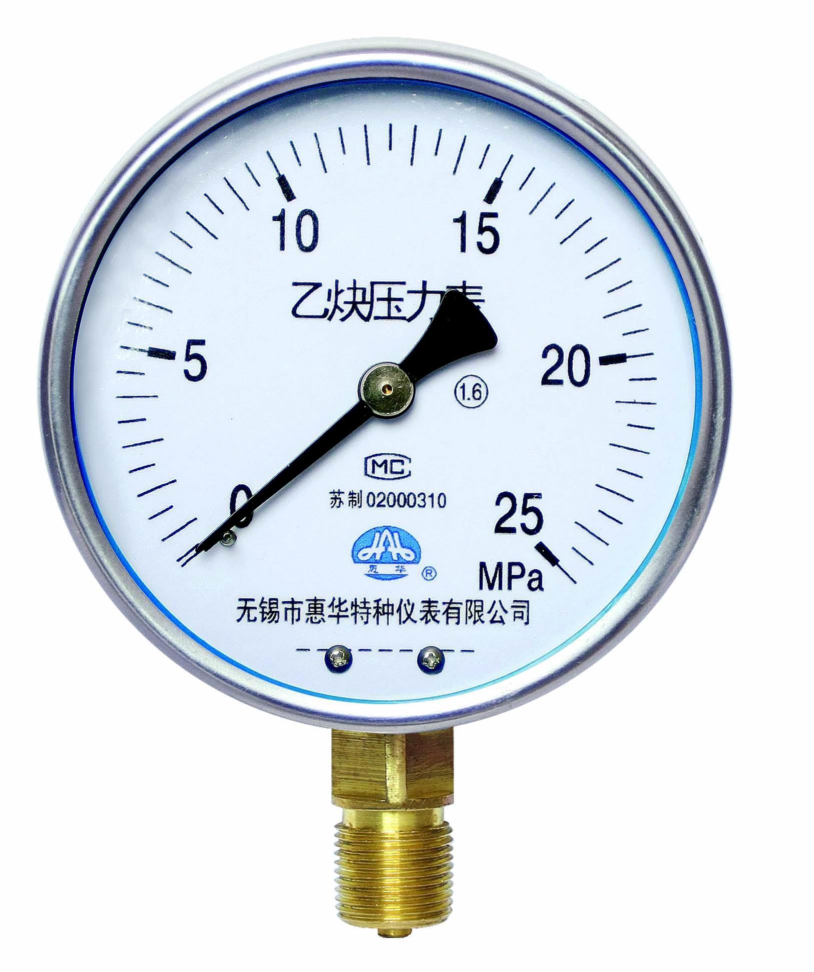 乙炔壓力表 乙炔表 1