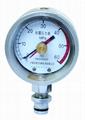矿用双针耐震压力表 矿用双针记