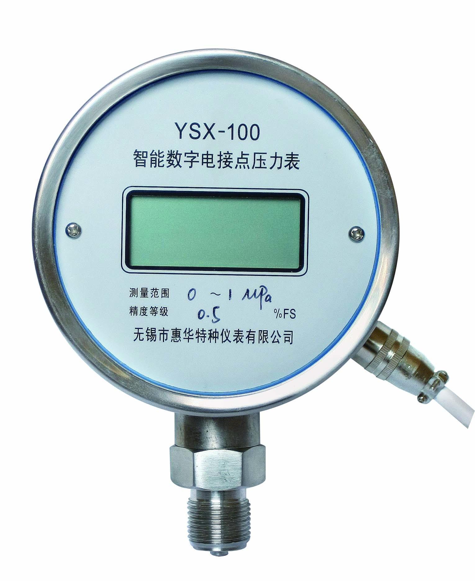 數字電接點壓力表 數顯電接點壓力表 1
