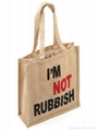 custom printed jute bags with various designs and colors for promotional purpose 3