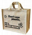 custom printed jute bags with various designs and colors for promotional purpose 5