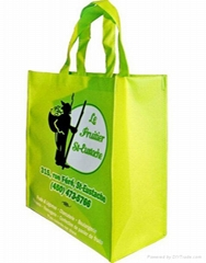 Custom promotional nonwoven shopping bag