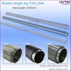 TiO SiAl si  er rotatable sputtering target high quality purity  PVD thin film