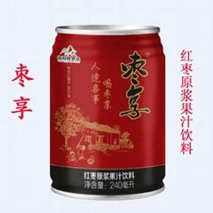 棗享紅棗原漿果汁飲料