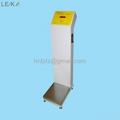 Coin operated vending machine body weight scale machine