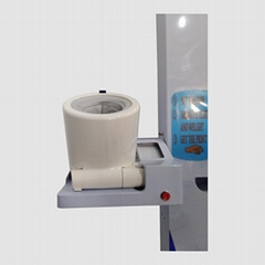 coin body scale with omron blood pressure monitor and printer