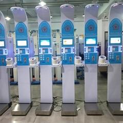 Height weight bmi blood pressure body fat analyzer scale machine