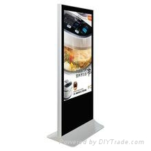 """42"""" lcd advertising digital signage with touch wifi"""
