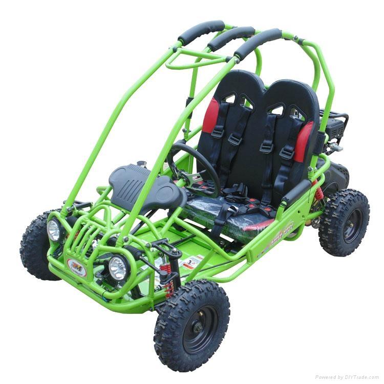 kids 50cc rental pedal two seat mini jeep go kart 5