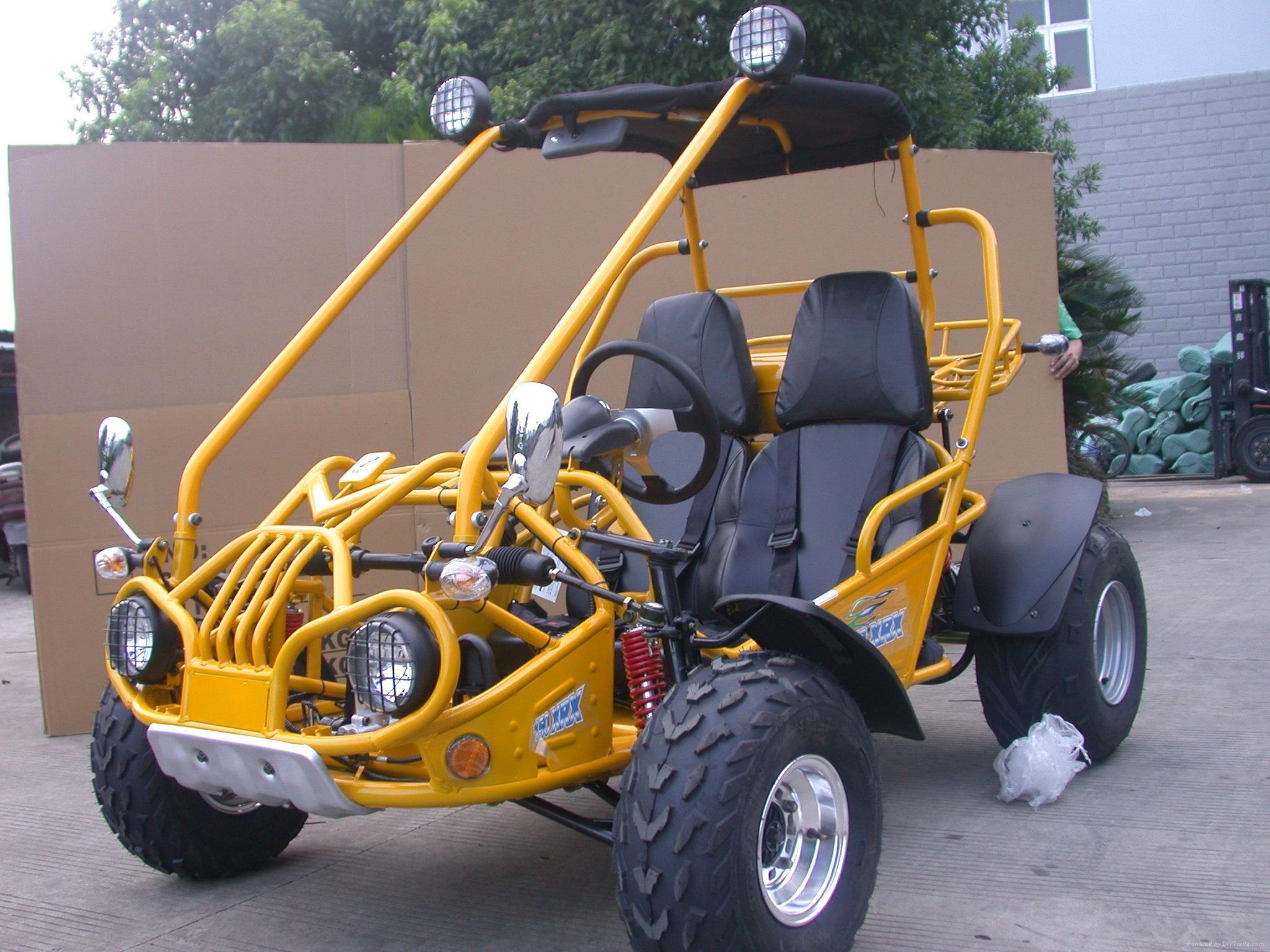 2Seats 150cc Hammerhead Gas Dune B   y off Road Go Kart 4