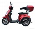 EEC Elderly 500W three wheel electric scooter 2