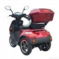 EEC Elderly 500W three wheel electric scooter 5