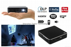DLP Wired plug&play pico projector