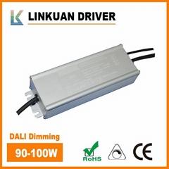 IP67 waterproof DALI dimming LED driver 40-45V 2.3A LKAD100D-D