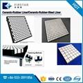 Impact resistance Rubber Ceramic Composite Panels 4