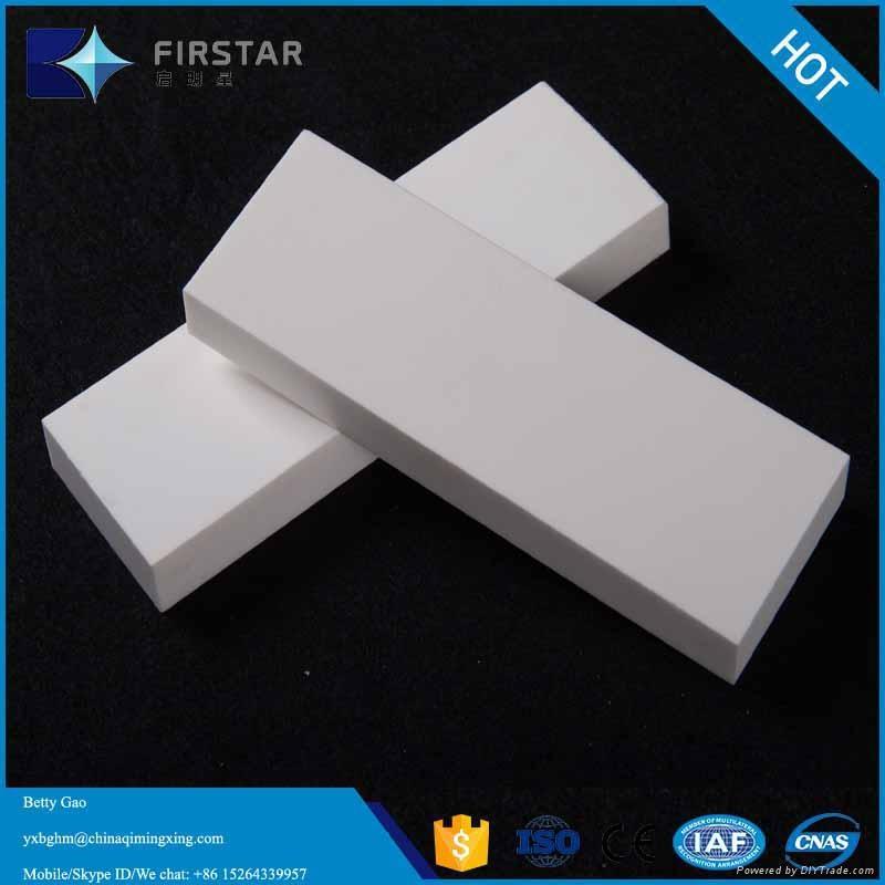High Alumina Ceramic Wear Flat Tiles 1