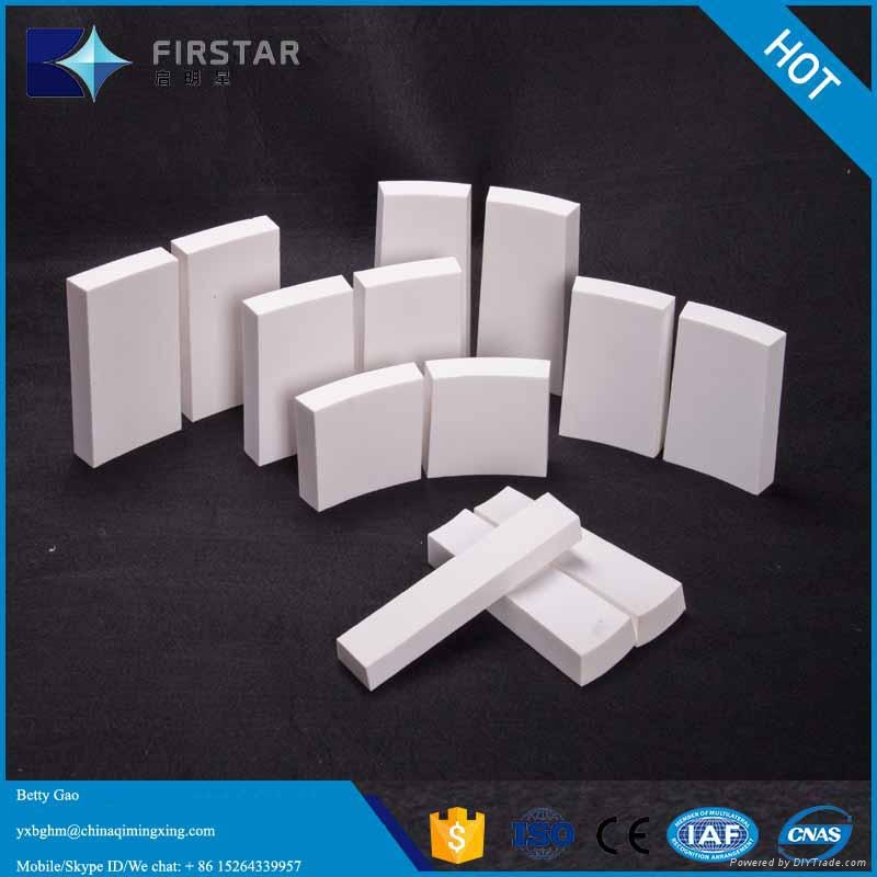 High Alumina Ceramic Wear Flat Tiles 2