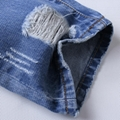 New Style Hip Hop Denim Fabric Man Damaged Jeans Ripped Pants Y062 5