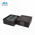 paper cardboard box printing with clear blisters macaroon packaging gifts  1