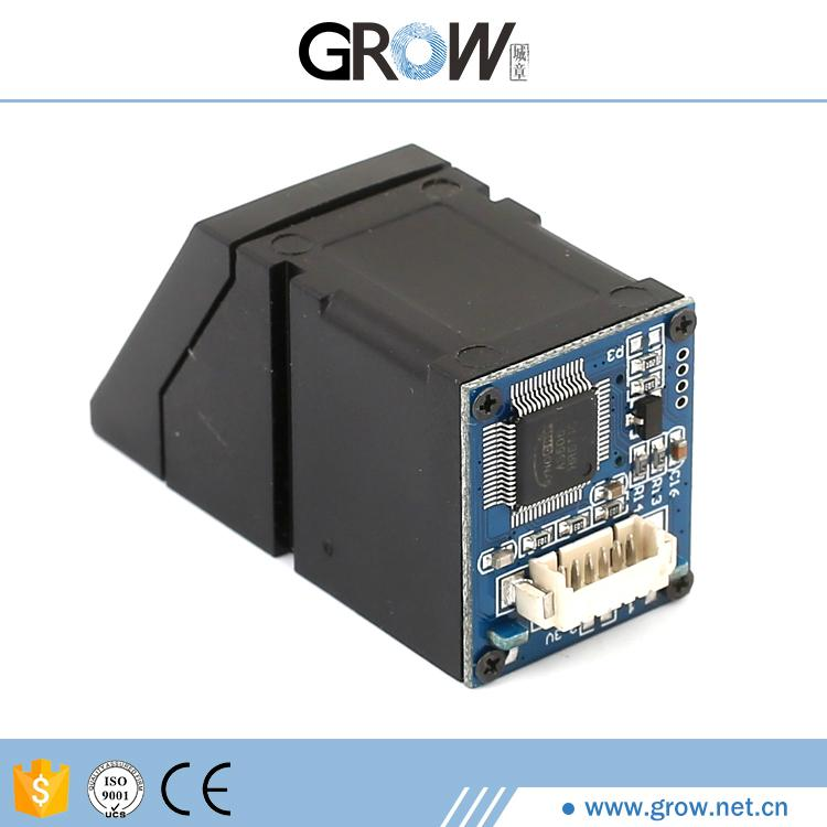 R307一體式低功耗帶手指感應輸出光學指紋模塊  2