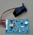 K212 指紋模塊控制器 指紋鎖電路板 指紋門禁 繼電器時間可調 4