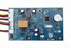 K212 指纹模块控制器 指纹锁电路板 指纹门禁 继电器时间可调