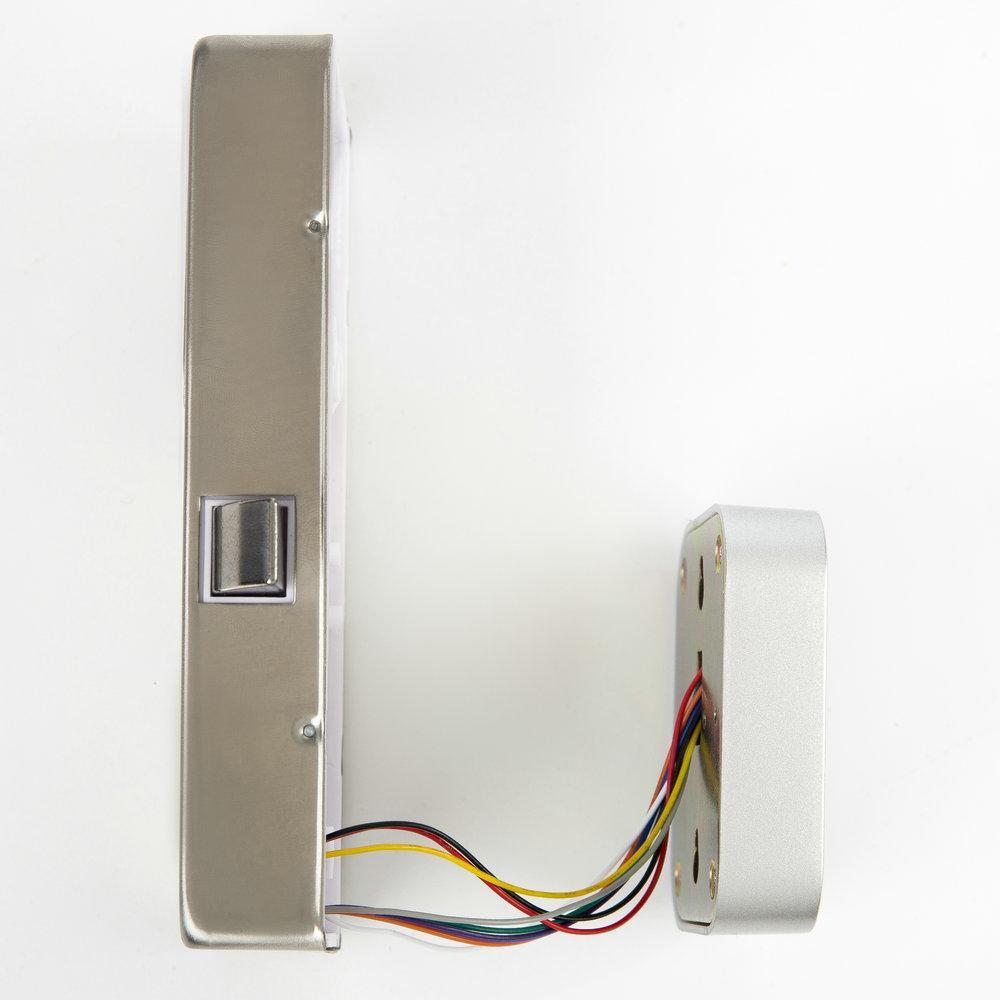 GROW G12更衣櫃 抽屜用電容密碼指紋鎖 5