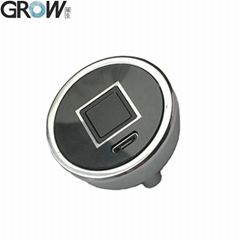 GROW R302S Circular Capacitive Fingerprint Scanner With 150 Finger capacity