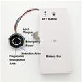 G15 圓形電容指紋抽屜鎖櫃鎖辦公