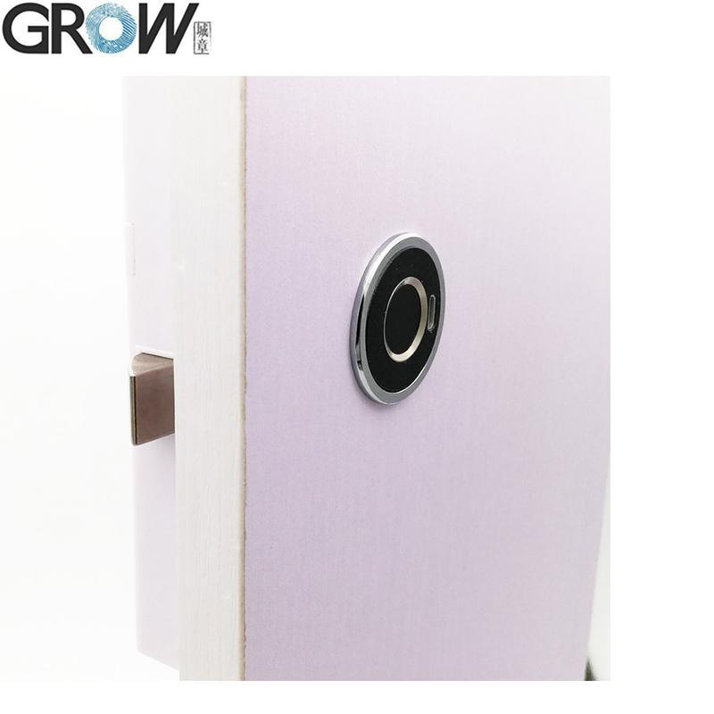 G15 圓形電容指紋抽屜鎖櫃鎖辦公 4