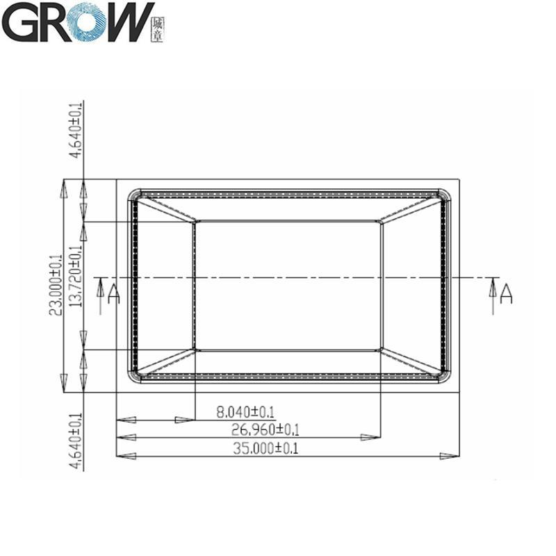 城章 R311 大麵積電容指紋模塊模組 5