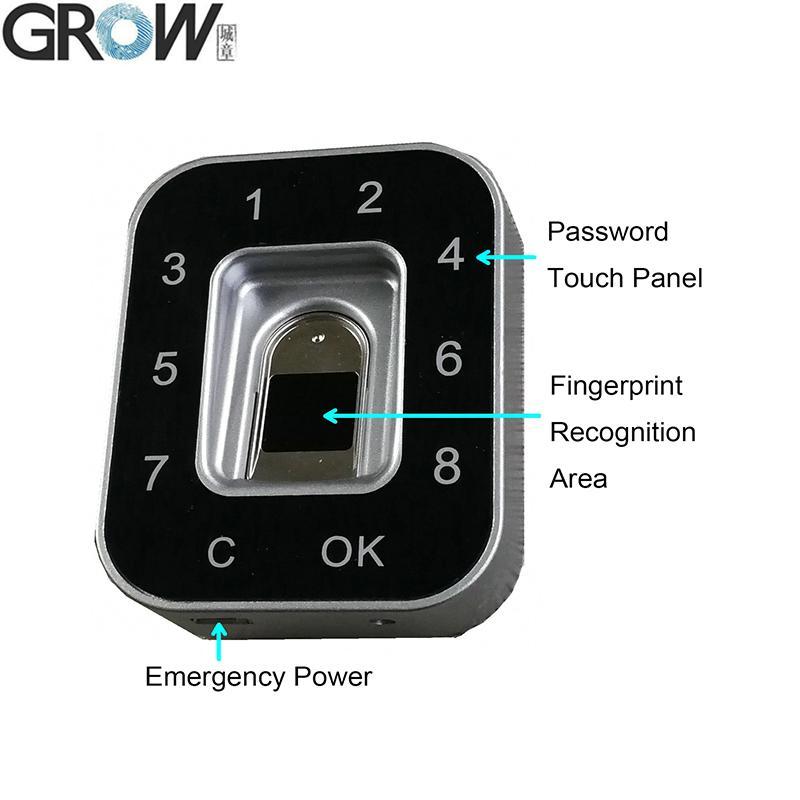 GROW G12更衣櫃 抽屜用電容密碼指紋鎖 2