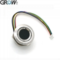 GROW R503 Round Two-Color Ring Indicator Control DC3.3V Fingerprint Module