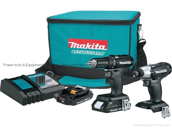 Makita CX200RB 18V LXT Sub Compact Brushless Drill  Impact Driver Kit 1