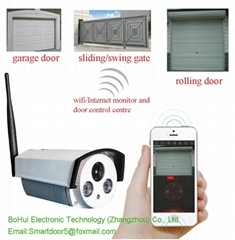 mobile control wireless sliding gate opener
