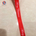 Wholesale 100%polyester custom printed grosgrain ribbon 3